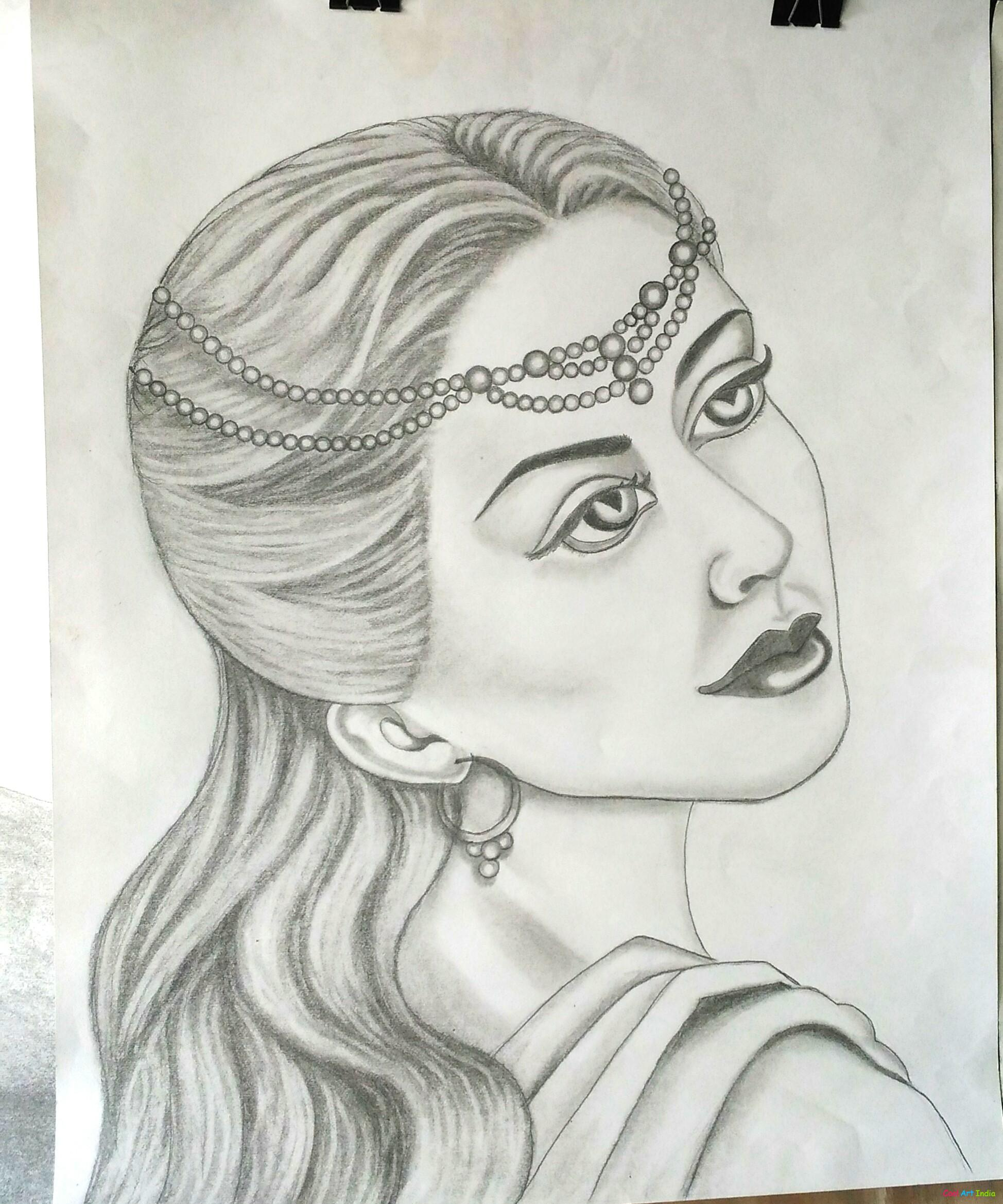 Girl by k r painter suraj kumar