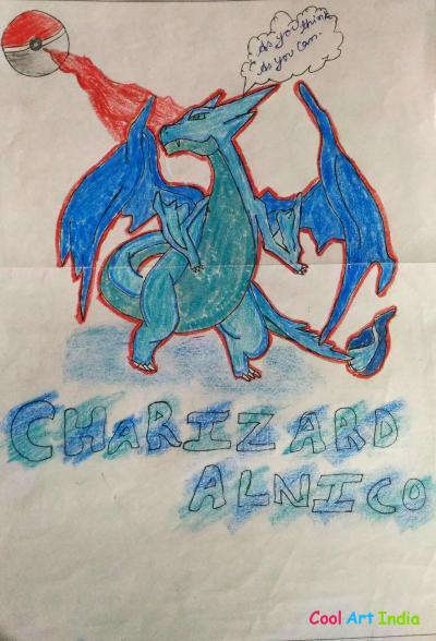 Pokemin(charizard alnico)