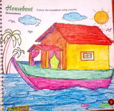 Houseboat Coloring