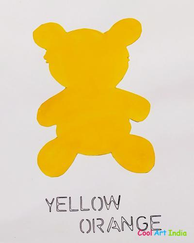 Teddy Bear in Yellow