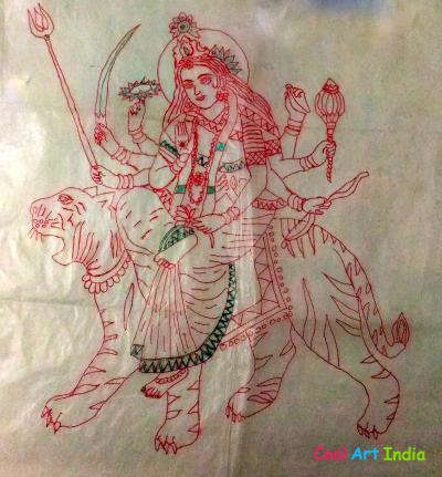 The God Durga