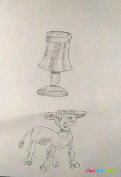 lamp and sheep