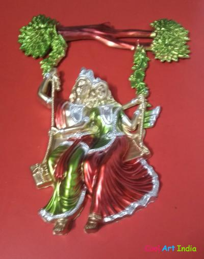 radhe krishna hanging fancy