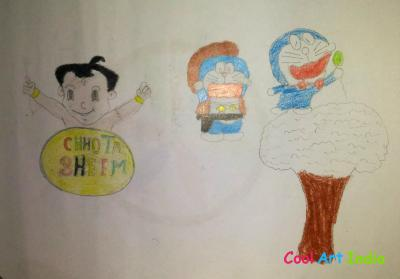 chhota bheem and doraemon