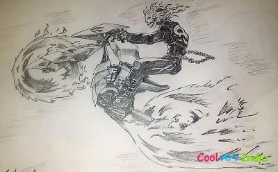ghost rider sketches