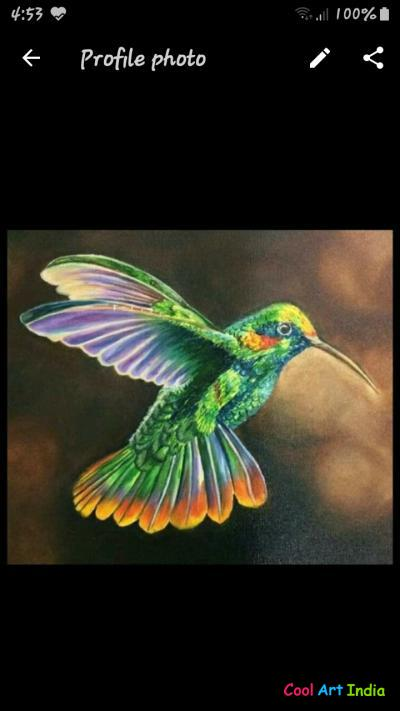Flemming bird oil painting