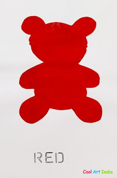 Teddy Bear in Red
