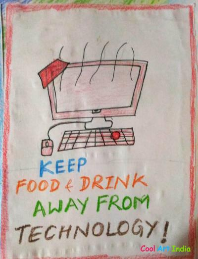 Keep Food away from computer