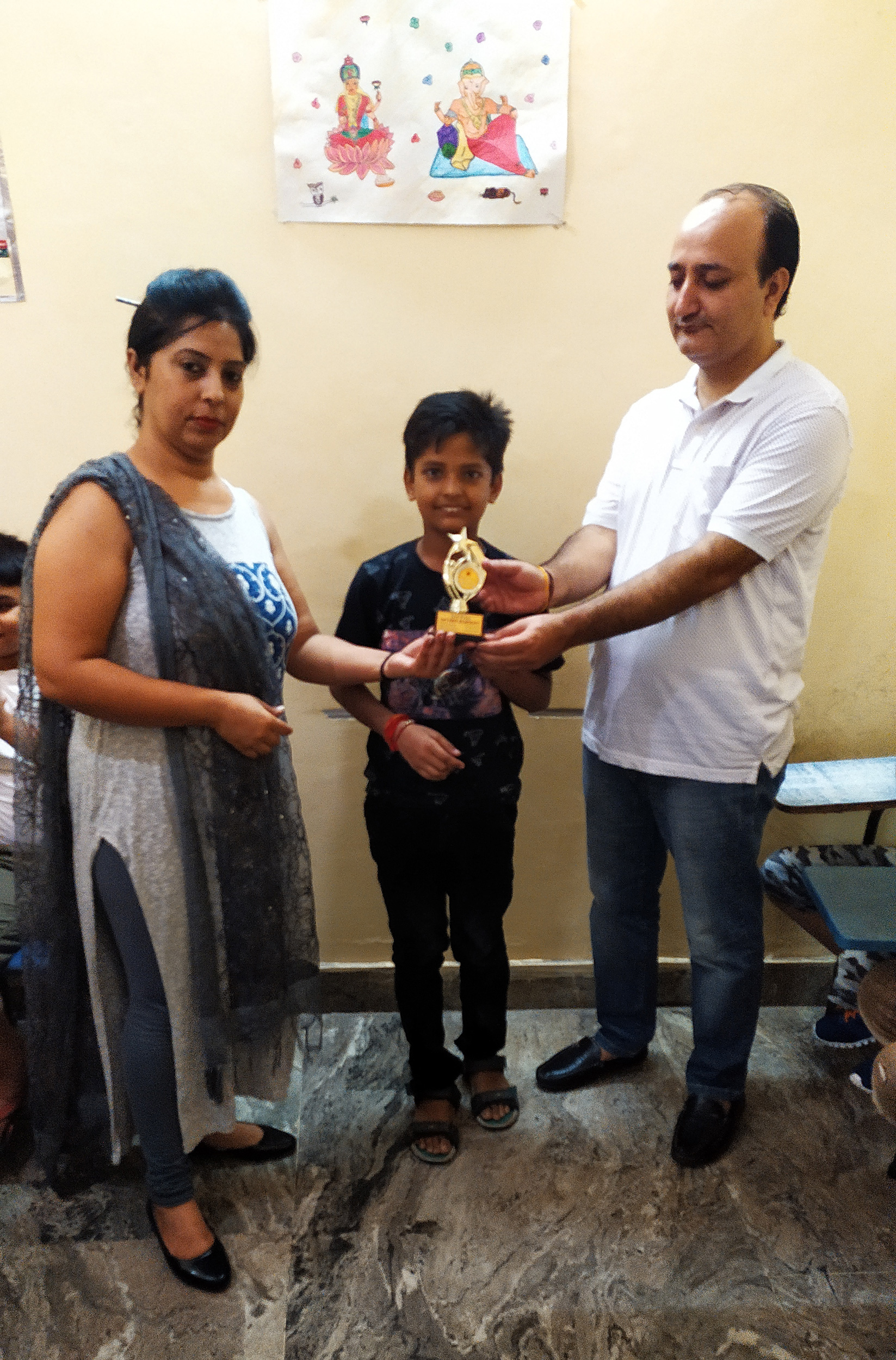 Prize Distribution in Satyam Academy